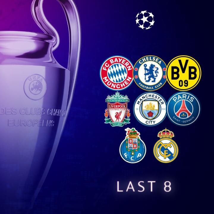 欧冠夺冠赔率更新:曼城3.25领跑,拜仁第二、切尔西第五